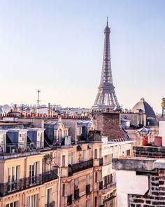 Excelente vista de #LaTorreEiffel en #ParísFrancia