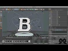 ESPN Sportscenter Motion Graphics Speed Art   Cinema 4D - YouTube