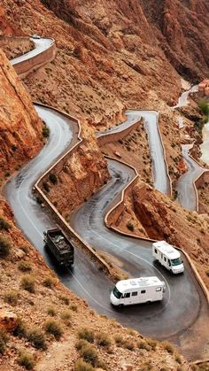 Morocco-The famous Tizi n'Tichka pass in Morocco.