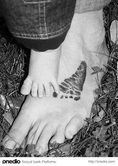 İlk adımı hep ayağında..