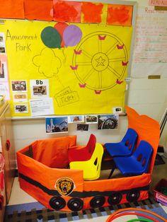 My Dramatic Play. Amusement Park, Roller Coaster. Prekindergarten   Early childhood education   Preschool