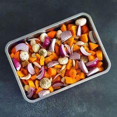 Des légumes d'hiver rôtis pour un résultat délicieux et surtout une préparation sans effort qui embaume la maison.