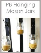 ThriftyandChic.com. - DIY Projects and Home  Decor  Hanging Mason Jars tutorial