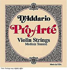 DAddario ProArte 12 Violin E String Medium Gauge Steel >>> You can get additional details at the image link.Note:It is affiliate link to Amazon. #lasvega