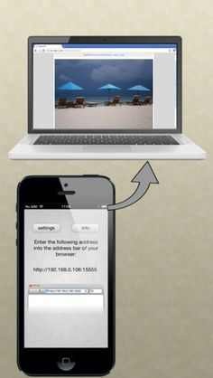 Load apps. Description Easily access your photo libraries via wifi from any computer with a web browser!   Just start the app and enter the d...