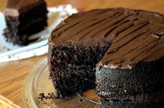 Happy Cooking Recipes: Dark Chocolate Chipotle Cake