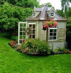 Fabulous garden shed