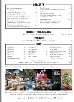 Spring Rolls, Lime, Menu, Hot, Creative, Desserts, Menu Board Design, Tailgate Desserts, Limes