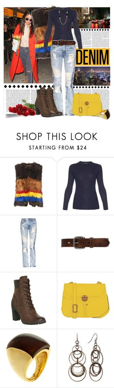 """""""Distressed Denim_Casual Dinner Date"""" by msmith801 ❤ liked on Polyvore featuring Rachel Comey, Proenza Schouler, Tortoise, Bed