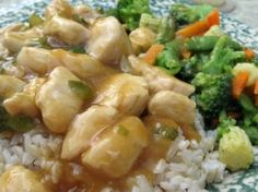 Weight Watchers Chinese General Tso's Chicken recipe – 6 points