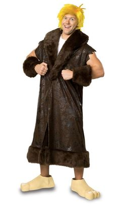 06f41693f5 Mens Man Adult Halloween Costume Barney Rubble Flintstones NEW Rubies  Costumes  fashion  clothing