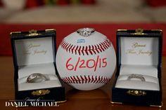 Wedding Photography Rings and Baseball