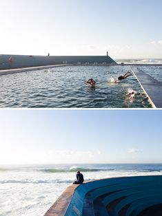 Newcastle baths, Australia.... Home, sweet, home!