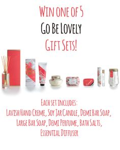 Sweet Paul: Giveaway: Win 1 of 5 'Go Be Lovely' Gift Sets from Illume!