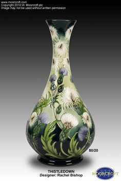 I fell in love with Moorcroft in Williamsburg at Scotland House, Ltd.
