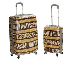 Rockland Animal 2 Piece Luggage Set