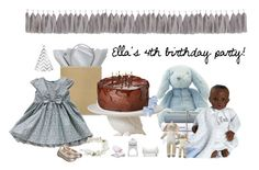 """""""It's Ella's 4th birthday and she'll have a blue party"""" by tippih ❤ liked on Polyvore featuring interior, interiors, interior design, home, home decor, interior decorating, Imm Living and Blabla"""