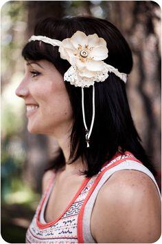 DIY braided bohemian headband, cute!