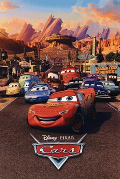 Pixar Cars poster GIF