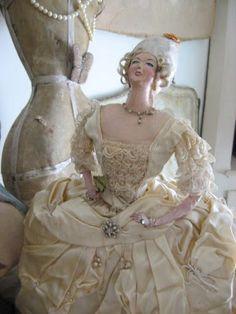 My favorite Marie Antoinette doll.