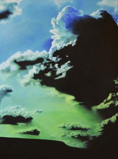 Catherine Ocholla: The Outpost I: fine art | StateoftheART Deep Shadow Box, Shadow Box Frames, Green Office, Office Art, Surrealism, Original Artwork, Oil, Landscape, Canvas