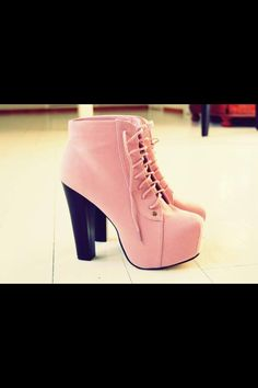I love those pink ones :3