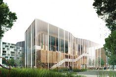 COBE maison des danses . bordeaux #architecture