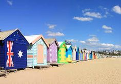 Photo about Colourful bathing boxes at Brighton Beach, Melbourne, Australia. A Melbourne icon. Image of victoria, downunder, beach - 3565793 Best Vacation Spots, Best Places To Travel, Best Vacations, Brighton Beach Melbourne, Melbourne Australia, Melbourne Victoria, Melbourne Trip, Airlie Beach, Australia Photos