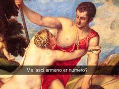 Venere e Adone - Tiziano Vecellio (1553) #StefanoGuerrera #seiquadripotesseroparlare