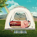 Glamp it up! Elevate your camp experience with the comforts of home