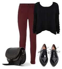 """Untitled #483"" by burtiva ❤ liked on Polyvore featuring J Brand, Jeffrey Campbell and MANGO"