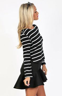 Play Back Top Black $55 http://bb.com.au/collections/new/products/play-back-top-black#