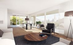 Manido Studios - Andrea Anliker 3d Modellierung, Studios, Eames, Modern, Conference Room, Lounge, Chair, Table, Furniture