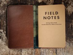 hollowsleather:    Navy shell cordovan Field Notes cover