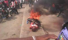 Emmanuel Ik's blog: NEWS: Serial rapist set ablaze in Delta