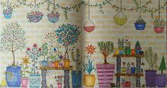 Décimo sexto colorido. Jardim Secreto. #jardimsecreto