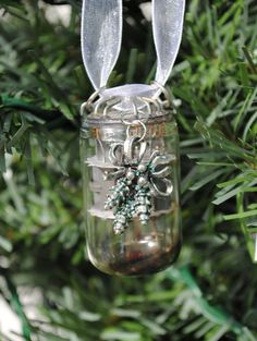 Vacuum Tube Steampunk Christmas Ornament by MadScientistsDesigns, $12.00