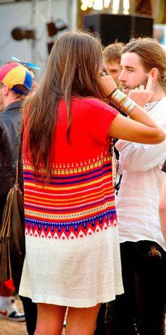 Aztec print cute comfy dress
