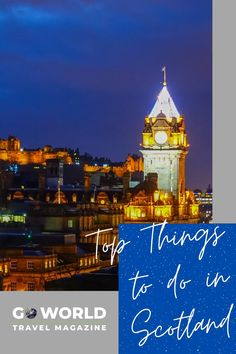 If you're planning a trip to Scotland, check out our picks for the best things to see and do in Scotland. READ THE BLOG London City Guide, Stuff To Do, Things To Do, International Travel Tips, We Are The World, Europe Destinations, Scottish Highlands, English Countryside, Scotland Travel