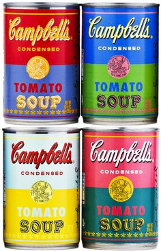 Warhol, Camplell's tomato soup