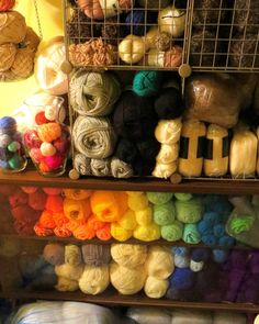knicromaniac:  mintkoi:  Flash Your Stash Update Nov 2015  And hubs thinks I have too much yarn. *scoffs*   Wow! Awesome!!