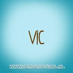Vic (Voor meer inspiratie, en unieke geboortekaartjes kijk op www.heyboyheygirl.nl)