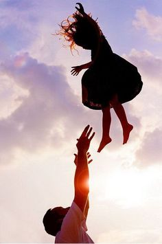 Throwing Child in the Air.