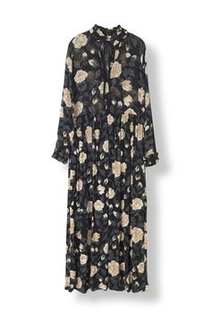 Carlton Georgette Maxi Dress - Ganni