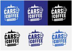 Cars & Coffee STHLM Logo Design on Behance