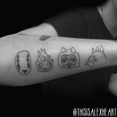 Studio Ghibli Tattoo