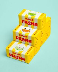 New Logo and Packaging for Fruna by Brandlab