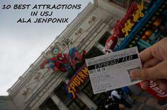 10 BEST ATTRACTIONS IN USJ ALA JENPONIX