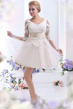 Vestidos de novia cortos ¡20 Maravillosas Tendencia en Outfits! - Somos Novias