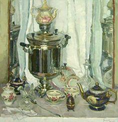 Натюрморт чайный - Григорьева-Климова Ольга